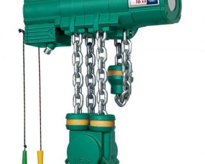 Profi TI series air hoists from J D Neuhaus