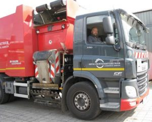 German waste company improves productivity with Allison-equipped DAF side-loader vehicles