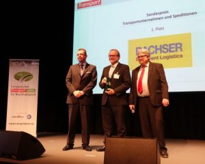 Sustainability award for Dachser & Kogel