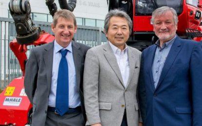 Komatsu Forest delegation visits McHale Plant Sales