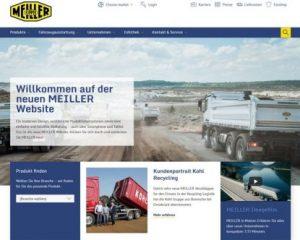 Visit the new MEILLER website