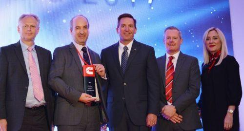 Briggs Equipment's wins Cummins supplier innovation award