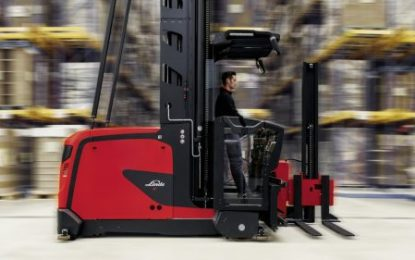 Linde Material Handling introduces new VNA trucks