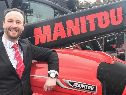 Mark Ormond: NEW Managing Director of Manitou UK & Ireland