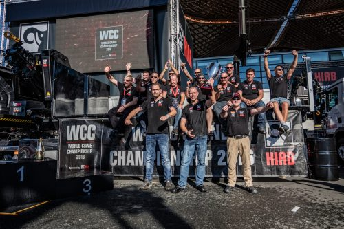 Hiab in search for 2018 World Crane Champion