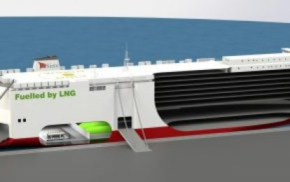 Construction work begins on LNG vessels for Volkswagen Group logistics
