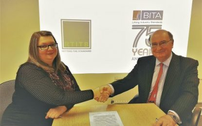 BITA & RTITB team up to raise forklift training standards