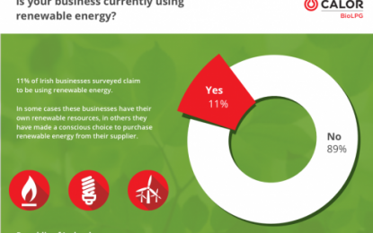 Calor Business Energy Barometer indicates potential for Renewable Energy growth