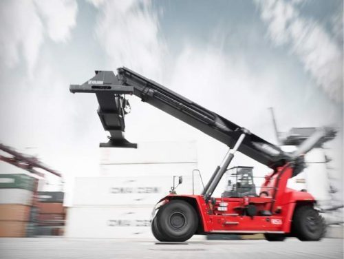 Two Kalmar reachstackers for Kemball for Felixstowe