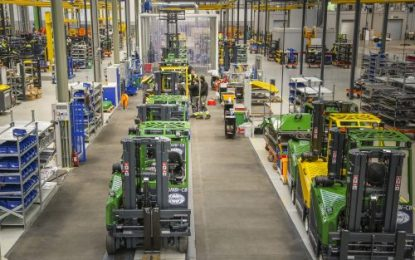 Combilift sets benchmark for mass customisation with new €50m production plant