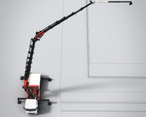 PALFINGER MFA jib: maximum reach and flexibility