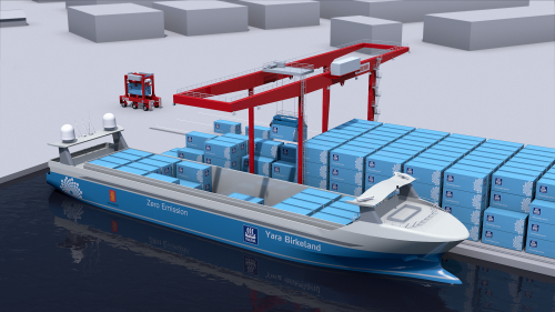 Kalmar & Yara to develop world's 1st Digitalized & Zero emission cargo solution for Yara Birkeland