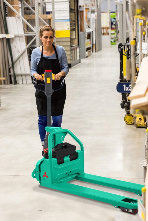 Mitsubishi launches simple, effective & affordable powered pallet truck