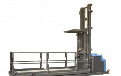 First Combilift purpose-built order picker designed for long loads