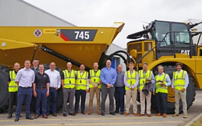 Big CAT delivered! Caterpillar delivers its 50,000th articulated truck