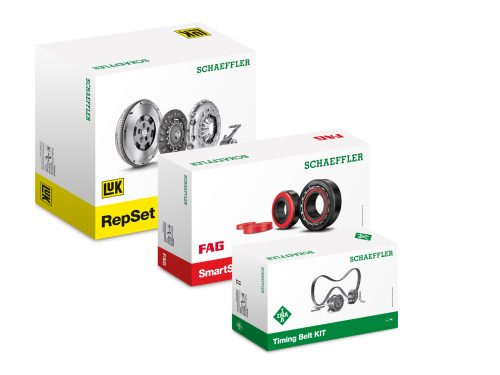 Schaeffler redesigns packaging for all key products