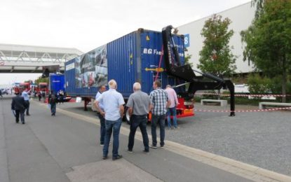 Megalift SLT at IAA Commercial Vehicles – Hannover Messe