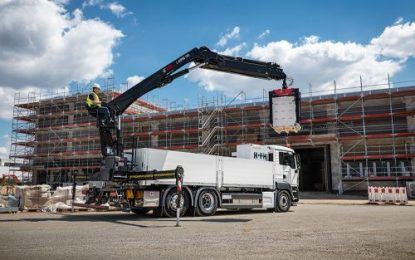 New building material crane models from Hiab at IAA CV