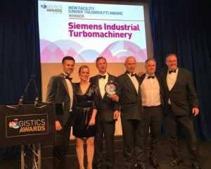 New Siemens Teal Park site kitted out by BITO wins ShD Logistics Award