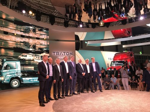 TRATON joins the Logistics Hall of Fame