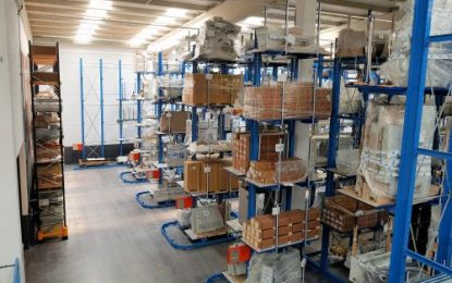 OHRA Racking systems for machine parts firm Seuner