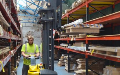 Electric power & Combilift 4-way is best for Crown Imperial