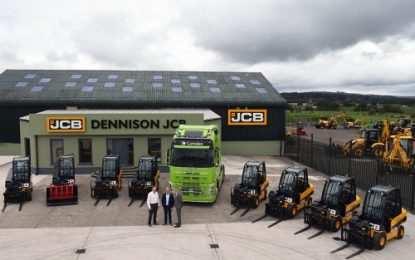 New JCB Teletruk fleet for Camden Group