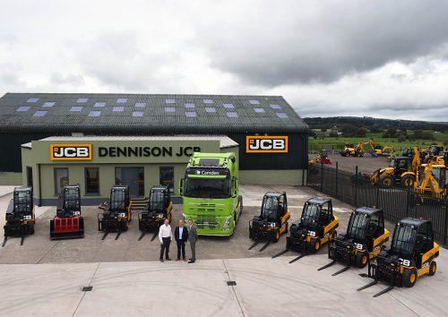 New JCB Teletruk fleet for Camden Group