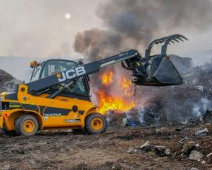 JCB's Teletruk joins the front line at Staffordshire Fire & Rescue