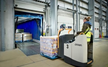 Smooth Implementation of Crown Fleet Helps 3PL Keep Operations Running