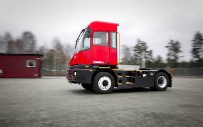 Eco-efficiency from Kalmar with new electric terminal tractor driveline technology