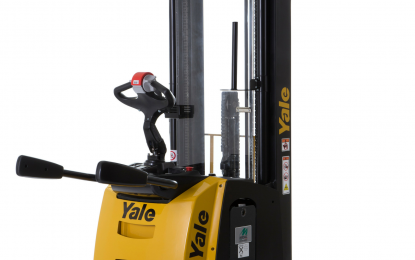 Meeting demanding operations: The new Yale platform stacker