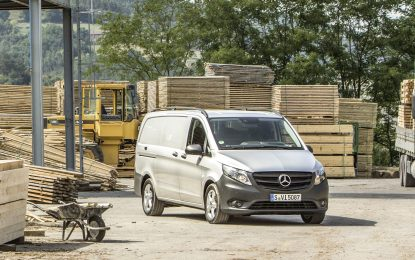 Mercedes-Benz Commercials exhibits at National Construction Summit