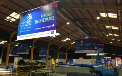Logistics & Transport to feature prominently at Ireland Skills Live 2019