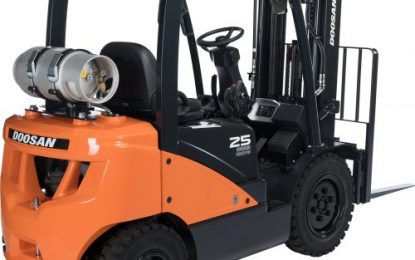 Doosan to power ahead at CV Show 2019