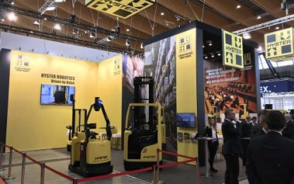 Hyster Europe Showcases Innovative Warehouse & Logistics Solutions at LogiMAT