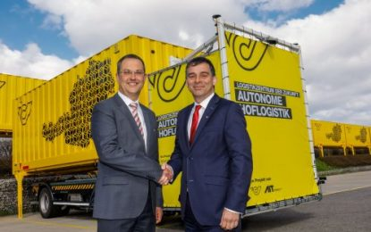Logistics Centre of the Future: Austrian Post Tests Autonomous Courtyard Logistics