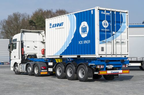 Krone present the ultimate in container carrier flexibility at MultiModal 2019