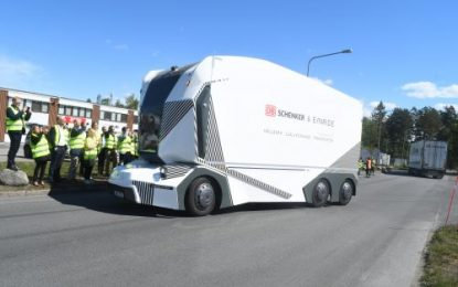 Enride goes driverless with DB Schenker in Jönköping in Southern Sweden