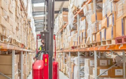 Flexi Narrow Aisle VNA technology ensures high pallet capacity for Daygard Logistics