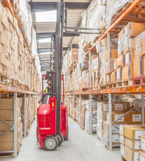 Flexi Narrow Aisle VNA technology ensures high pallet capacity for Daygard Logistics