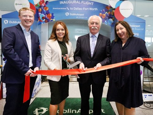 American Airlines introduces new direct flights from Dublin-Dallas