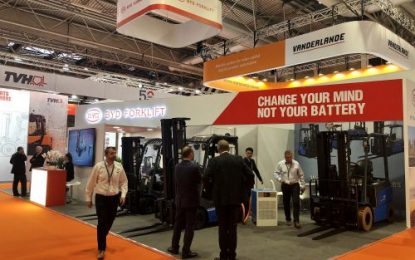 Technology leader BYD debuts warehouse range at IMHX