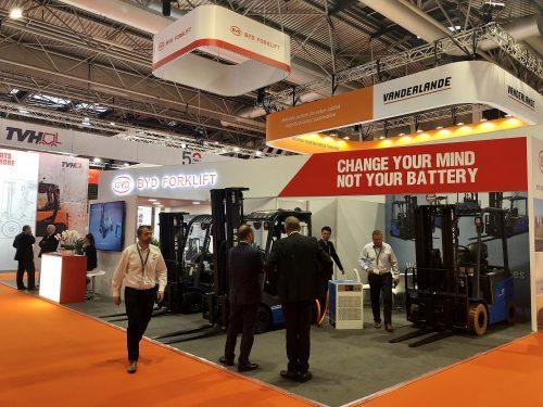 Technology leader BYD debuts warehouse range at IMHX