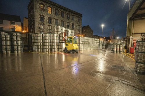 Specially Engineered Hyster Lift Trucks Refresh Operations at Heineken