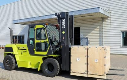 Clark has launched a new diesel forklift with 8t load capacity