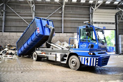 Terberg Container Carrier ideal for heavy containers in confined yards
