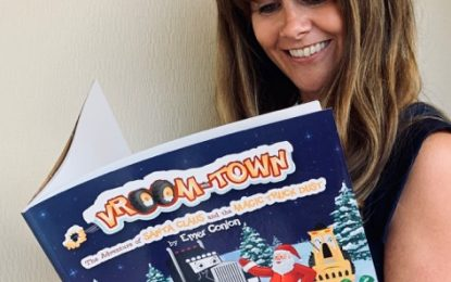 Magical New Christmas Book for the Vroom-Town Series!
