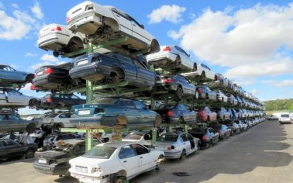 Desguaces Eduardo: More space for old vehicles in outdoor storage facility