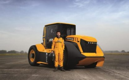 Williams Advanced Engineering boosts JCB's World Record attempt
